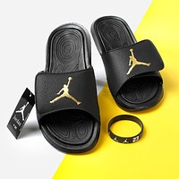 Nike Air Jordan Basketball Sandals Men's and Women's Slippers