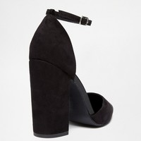 New Look Two Part Block Heeled Shoes