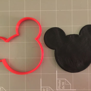 Mouse Cookie Cutter -  pick your own size