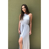 Take Me Away Dress- Sage