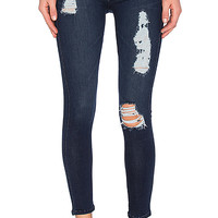 James Jeans James Twiggy Ankle 5 Pocket Legging in Dark Piro