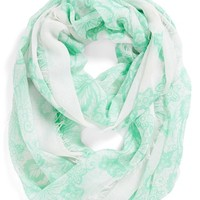 BP. 'Floral Lace' Infinity Scarf (Juniors)   Nordstrom