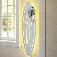 Surfboard Wall Light