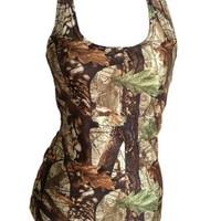 Huntress Camouflage Tank Top For Women