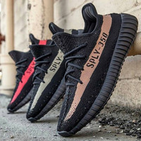Adidas Yeezy 350 V2  Women Men Casual Running Sport Shoes Sneakers Shoes