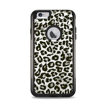 The Neutral Cheetah Print Vector V3 Apple iPhone 6 Plus Otterbox Commuter Case Skin Set