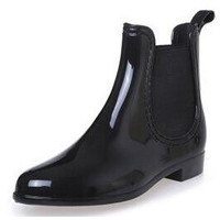 Rubber Boots Ankle Rain Boot