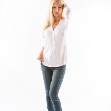 Mya Iconic Skinny Jean, in Cloud by Articles of Society