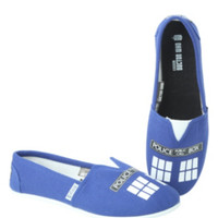 Doctor Who TARDIS Slip-On Shoes