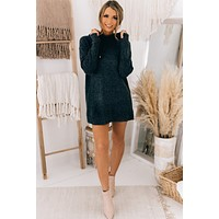 Afternoon Chill Tunic Hoodie (Charcoal)
