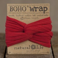 Red  Boho  Wrap  From  Natural  Life
