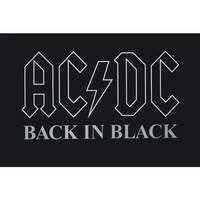 Walmart: AC/DC (Back in Black) Poster