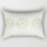 golden times; Rectangular Pillow by Pink Berry Patterns