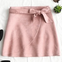 Sweet Pink Mini Skirt