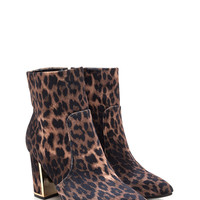 Frame It Pointy Leopard Booties