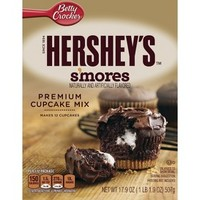 Betty Crocker Hershey's S'mores Cupcake Mix 17.9 oz