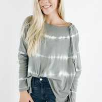 Electric Baby Top - Grey