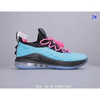 Nike Lebron Low Popular Men Breathable Sport Running Sneakers Basketball Shoes 2#