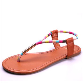 Candy Land Sandals