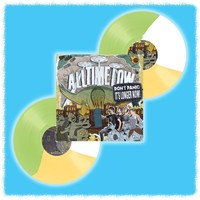 Don't Panic: It's Longer Now! Green/White/Yellow Vinyl 2Xlp : HLR0 : Hopeless Records