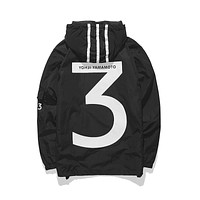 Y-3 High Quality Yeezy Pablo Kanye West Men Women MA1 Pilot Jackets Yohji Yama Motor H