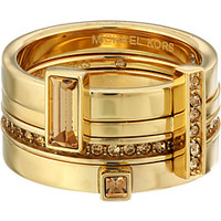 Michael Kors Collection Brilliance Stackable Rings