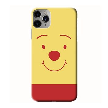WINNIE THE POOH FACE iPhone 3D Case Cover
