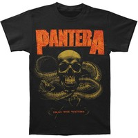 Pantera Men's  Snake T-shirt Black