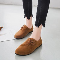 new Fashion Loafers Women Flat Shoes size 678