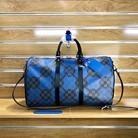 LV Louis Vuitton DAMIER GIANT CANVAS KEEPALL HANDBAG TRAVEL BAG