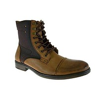 Men's D-707 Calf High Zip Combat Boots