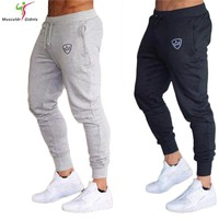 2018 Autumn Brand Gyms Men Joggers Sweatpants Men Joggers Trousers Sporting Clothing The high quality  Pants size