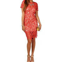 Sale-cheyenne-lace Midi Dress