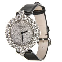 Chopard Lady's White Gold Diamond Wristwatch