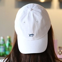 Retro Cute Fish Baseball Cap