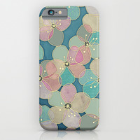 It's Always Summer Somewhere 2 - translucent poppy doodle iPhone & iPod Case by Micklyn