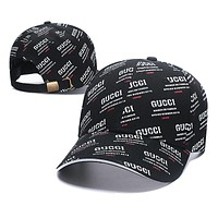 Gucci Fashion Casual Hat Cap Black