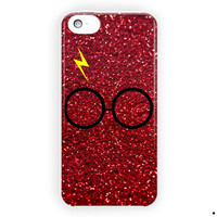 Harry Potter Glasses And Lightning For iPhone 5 / 5S / 5C Case