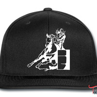 Barrel Race Lady Girl Snapback