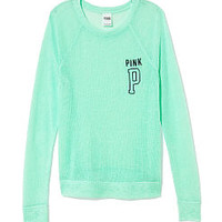 Slouchy Crew Neck - PINK - Victoria's Secret