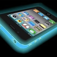 iPhone 5 Glow in the Dark (Glow Pink) Silicone Protective Case