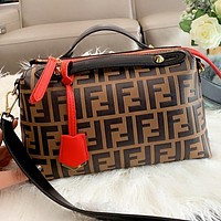 Fendi Fashion New More Letter Leather Shopping Leisure Shoulder Bag Crossbody Bag Handbag