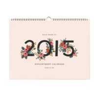 2015 Appointment Wall Calendar by RIFLE PAPER Co. | Made in USA