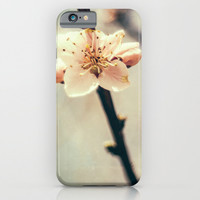 White Blossoms iPhone & iPod Case by Pati Designs