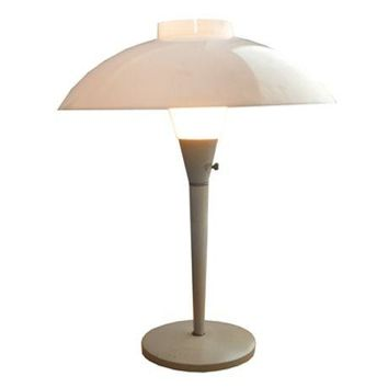 Pre-owned Vintage Lamp with Plastic Shade