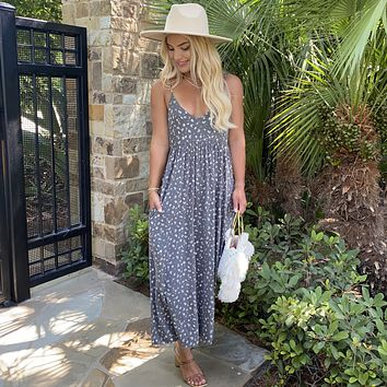 Urban Chic Floral Ankle Maxi Dress