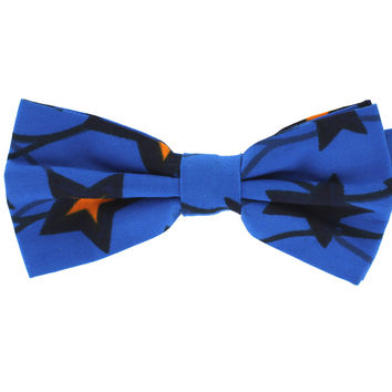 Tok Tok Designs Baby Bow Tie for 14 Months or Up (BK364, Genuine African Wax Fabric)