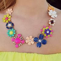 Forever Floral Necklace