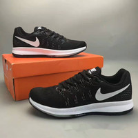 """""""Nike Air Zoom Pegasus 33"""" Fashion Casual Breathable Unisex Sneakers Couple Running Shoes"""