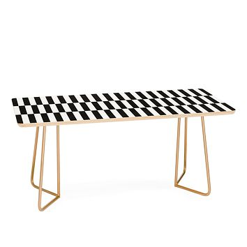Bianca Green Black And White Order Coffee Table